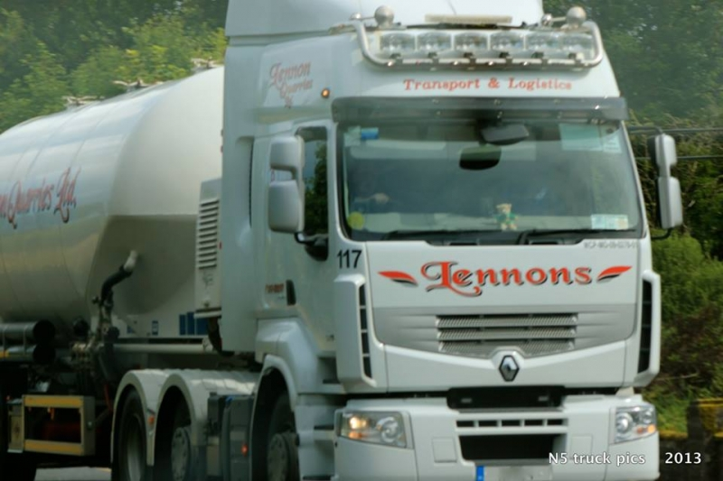 concrete lorry