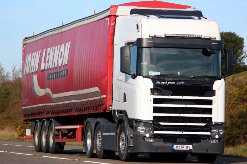 john lennon lorry