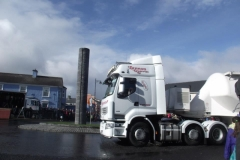 lorry in belmullet